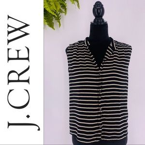 J. CREW Button Down Sleeveless Top